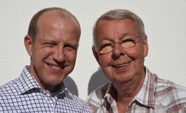 Andreas Geier und Knut Werner