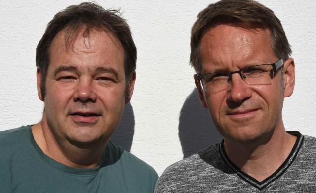 Ralf Marter und Dr. Stefan Heizmann